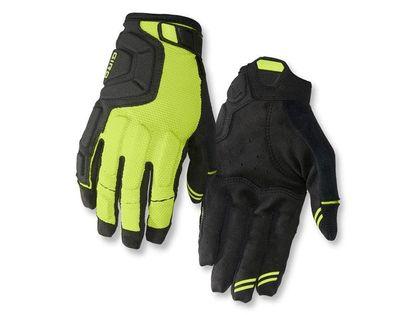 Rękawiczki męskie GIRO REMEDY X2 długi palec lime black roz. XL (obwód dłoni 248-267 mm / dł. dłoni 200-210 mm) (DWZ)