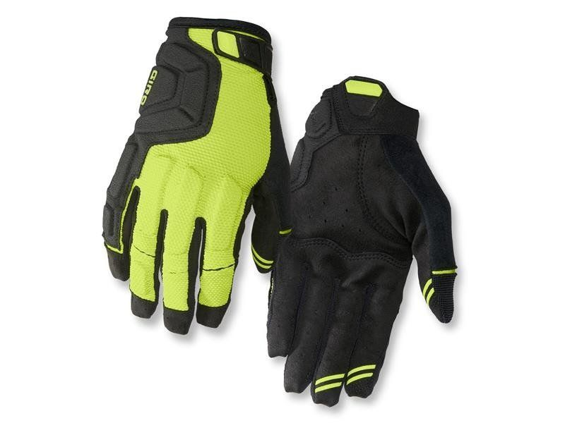Rękawiczki męskie GIRO REMEDY X2 długi palec lime black roz. XL (obwód dłoni 248-267 mm / dł. dłoni 200-210 mm) (DWZ) na Arena.pl