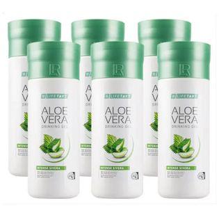 LR LIFETAKT Aloe Vera Drinking Gel Intense Sivera 6pak