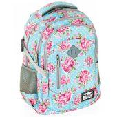 Plecak szkolny młodzieżowy Astra Hash HS-01, w różyczki