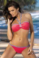 Kostium Kąpielowy Rachel Nectarine M-261 Koralowy (98) Rozmiar Xl/xxl