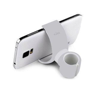 Uniwersalny uchwyt samochodowy/rowerowy PURO White 360-degree Universal Holder (Biały)