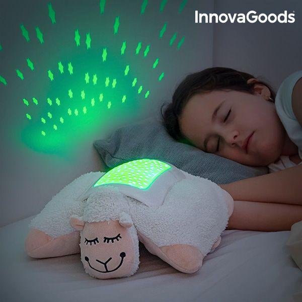 Przytulanka Owieczka z Projektorem LED InnovaGoods zdjęcie 1