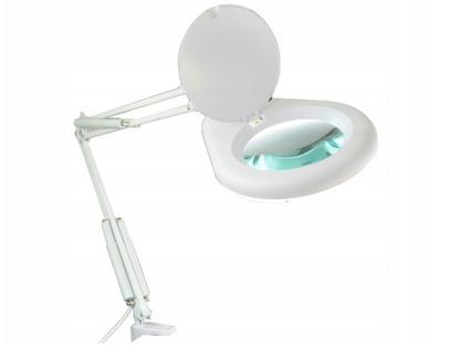 LAMPA Z LUPĄ PROSTOKĄTNA 3D 80xLED PRZYKRĘCANA