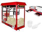 Maszyna do popcornu witryna grzewcza czerwona Royal Catering RCPC-16E