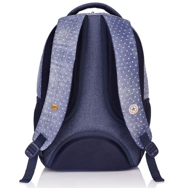 Plecak szkolny młodzieżowy Astra Head HD-07, w groszki zdjęcie 3