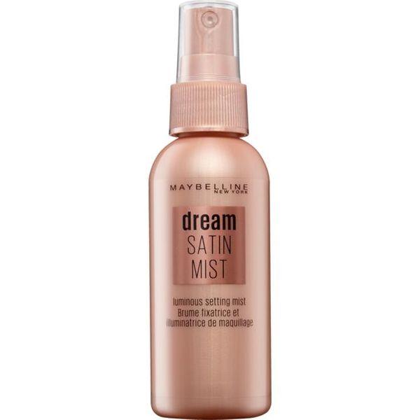 Maybelline Dream Satin spray odświeżający makijaż DE zdjęcie 1