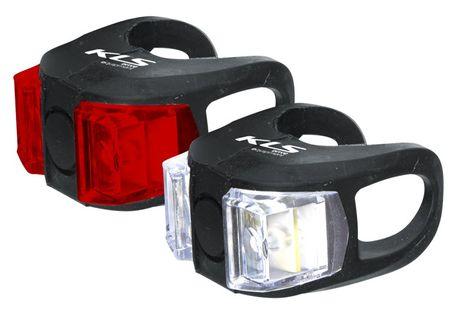 LAMPKI ROWEROWE ZESTAW KELLYS TWINS LED 6K