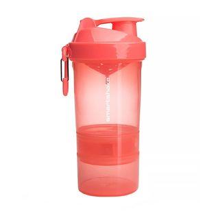 Smartshake Original2Go 600ml (400+200+kaps) Kolor - Koral