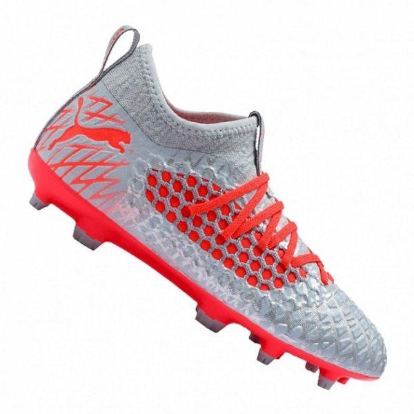 Buty piłkarskie Puma Future 4.3 Netfit FG AG JUNIOR szaro