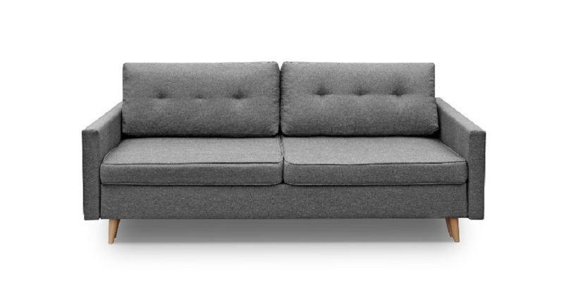 Kanapa Sofa BLUE rozkładana bonell Skandynawska zdjęcie 9