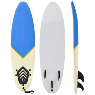 Lumarko Deska surfingowa, 170 cm, niebiesko-kremowa