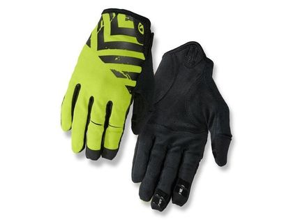 Rękawiczki męskie GIRO DND długi palec black lime roz. S (obwód dłoni 178-203 mm / dł. dłoni 175-180 mm) (DWZ)