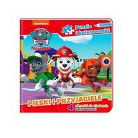 Psi Patrol, Pieski i Przyjaciele, Puzzle i kolorowanki
