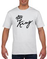 Koszulka męska DLA PAR KING QUEEN WALENTYNKI M