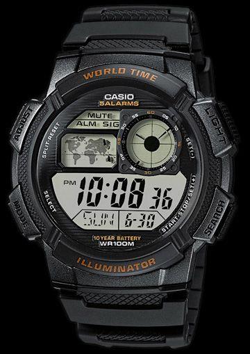 Casio MATHIS -10BAR AE-1000W-1AVEF zdjęcie 5