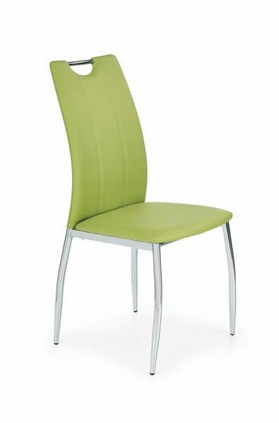 Krzesło Metalowe Eko Skóra Czarne K187 Halmar Arenapl
