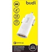 Budi - Ładowarka samochodowa USB Quick Charge 3.0 18W