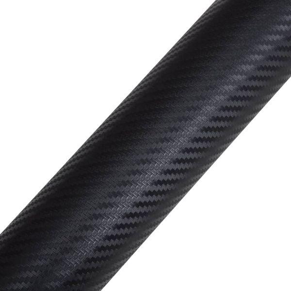 Naklejka samochodowa winyl/carbon 3D Czarna 152 x 200 cm zdjęcie 5