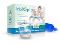 Bańki lekarskie bezogniowe szklane 8 szt z pompką MedPlus