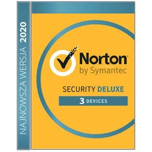 Norton Security Deluxe 3 stanowiska / 1 rok