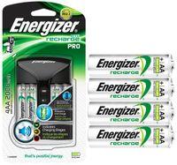ŁADOWARKA ENERGIZER PRO + 4 AKUMULATORKI AA 2000