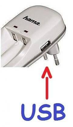 NIEMIECKA FIRMOWA ŁADOWARKA AA i AAA + USB