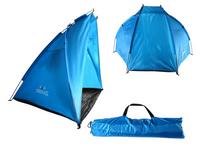 Namiot Plażowy Parawan Niebieski Wodoodporny 120 CM