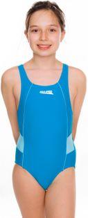 Kostium pływacki RUBY roz. 116-134 Rozmiar - Stroje dziecięce - 128, Kolor - Stroje damskie - Ruby - 22 - turkus / jasny turkus