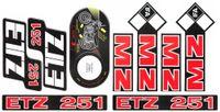 Naklejka MZ ETZ251