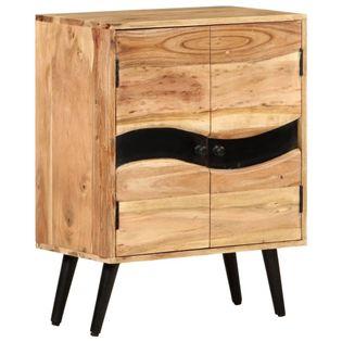 Lumarko Szafka, 57 x 34 x 75 cm, lite drewno akacjowe!