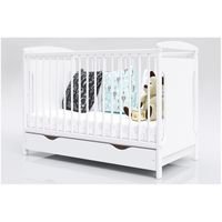 Łóżeczko dla Dziecka Jasio 120x60 z szufladą i barierką