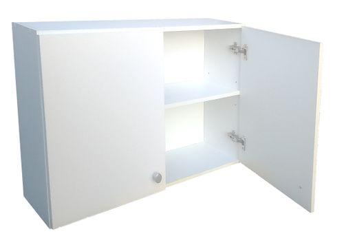 Wisząca szafka łazienkowa 60 cm biała na Arena.pl
