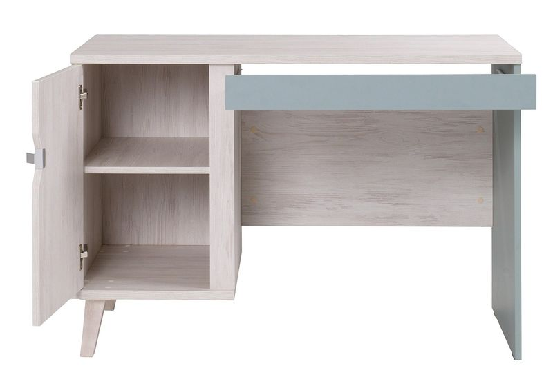 NM3 - Pojemne biurko w stylu skandynawskim MEMONE B na Arena.pl