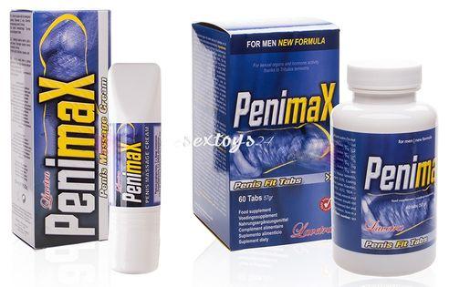 Penimax Zestaw ___ Kuracja Powiększająca Penisa