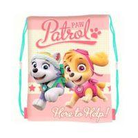 Plecak Worek dziecięcy Psi Patrol różowy