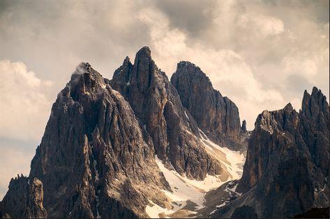 Fototapeta Szczyty Górskie PEJZAŻ Chmury do Salonu 270x180