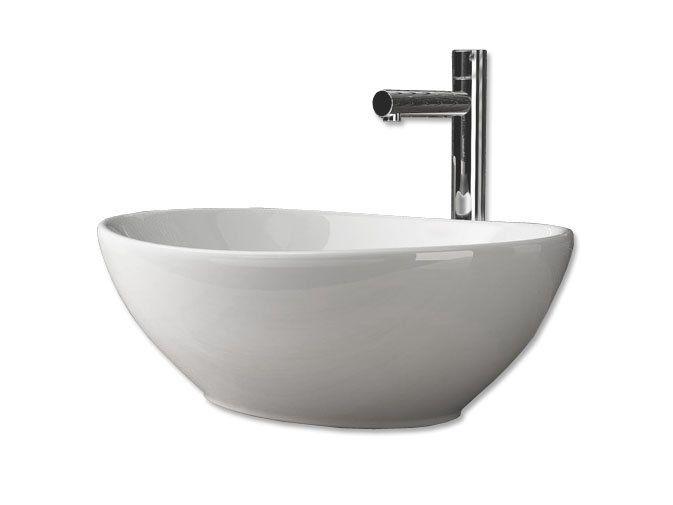 Umywalka Ceramiczna Stawiana Nablatowa AVILA - REA zdjęcie 1