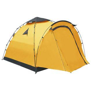 Namiot turystyczny typu pop-up, 3-osobowy, żółty