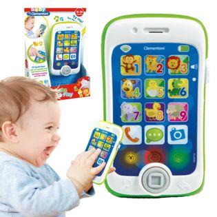 CLEMENTONI BABY smartfon - dotykaj i graj 17223