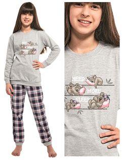 Piżama dziewczęca CORNETTE 594/117 KOALA 98-104