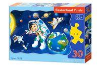 PUZZLE 30 CASTORLAND SPACER W KOSMOSIE B-03594