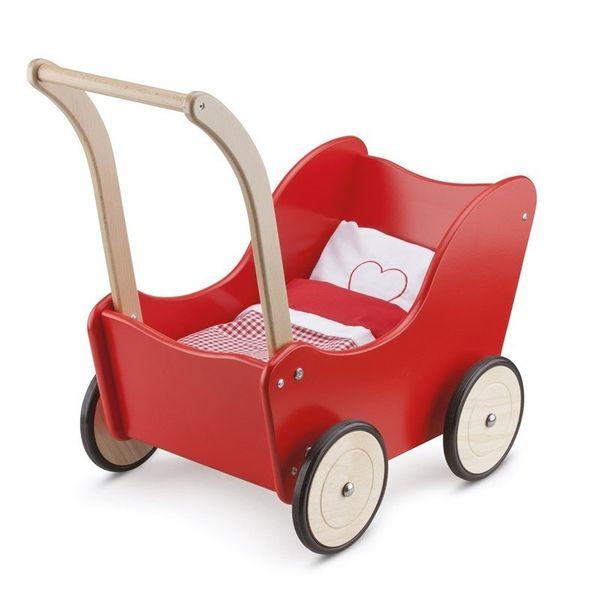 New Classic Toys - Wózek dla lalek czerwony na Arena.pl