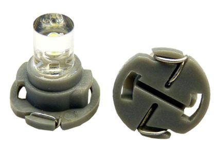 żarówka LED do nawiewów przycisków pokręteł 12v T5 12 mm KOLOR