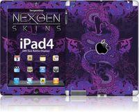 Nexgen Skins - Zestaw skórek na obudowę z efektem 3D iPad 2/3/4 (Serpentine 3D)