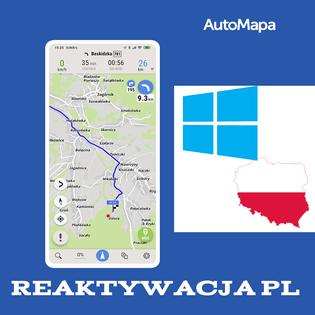 Reaktywacja AutoMapa Windows Polska(>2 lata wygaś.)