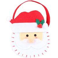 filcowy KOSZYCZEK świąteczny ŚWIĘTY MIKOŁAJ prezen
