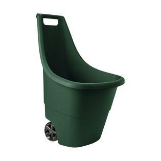 Taczka wózek CARLOS 50l ogród lekka wygodna koła uchwyty swe