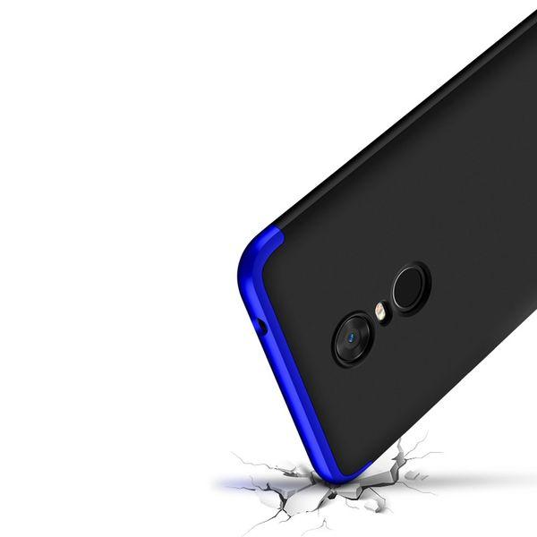 360 Protection etui na całą obudowę przód + tył Xiaomi Redmi 5 Plus / Redmi Note 5 (single camera) niebieski zdjęcie 6