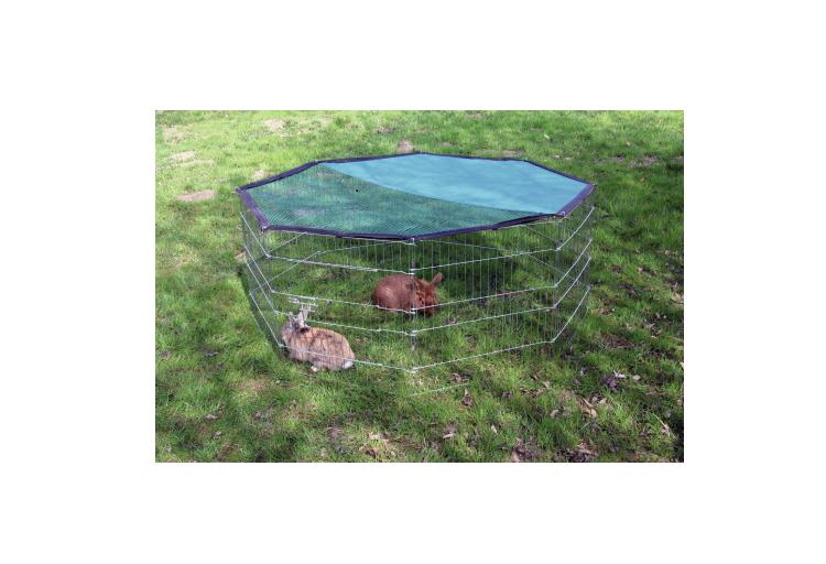 Kojec, wybieg, klatka dla królika, psa 8 el+OSŁONA zdjęcie 2